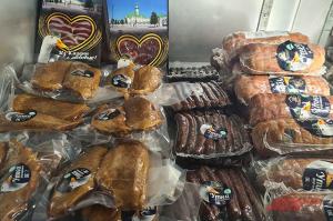 Набор продуктов из мяса уток в Татарстане.